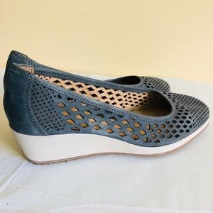 Naturalizer N5 Comfort Brelynn Denim Blue Shoes